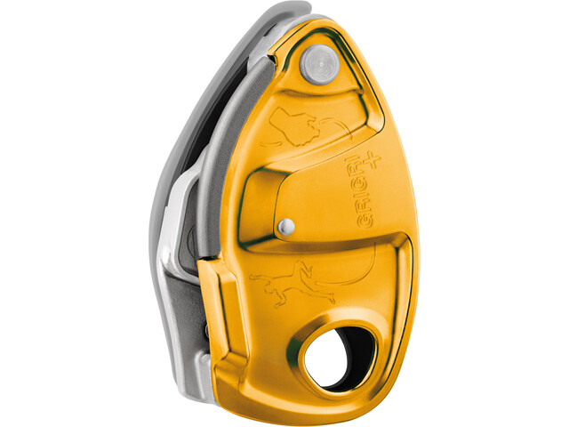 Petzl Grigri+ Belay Device, orange